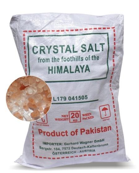 Kristallsalz grobkörnig, 20 kg Sack