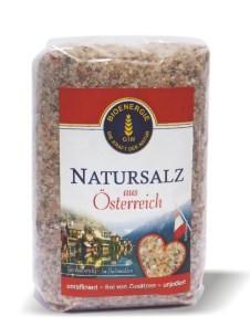 Natursalz aus Österreich, grob, 1 kg