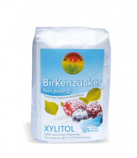 Birkenzucker, Xylitol fein pudrig, aus Finnland, 600 g