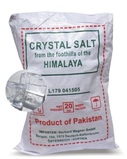 Lotus Salzkristalle, Halite, 20 kg Sack