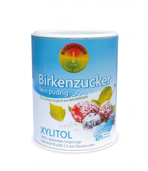 Birkenzucker, Xylitol fein pudrig, aus Finnland, 480 g