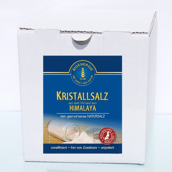 Kristallsalz fein gemahlen, 1.5 kg