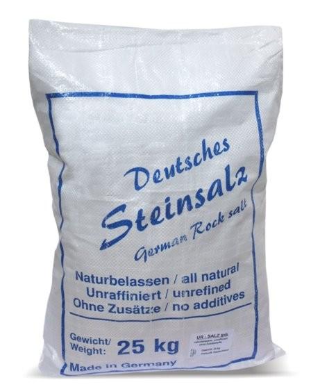 Ur-Salz aus Deutschland, grob, 25 kg Sack
