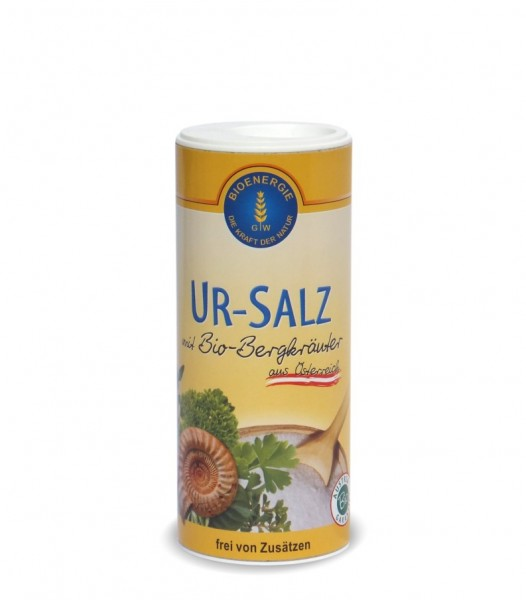 Ur-Salz Streuer Bergkräuter kbA, 170 g