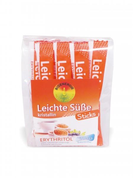 Leichte Süße Sticks 4g 20 Stk, Erythritol kristallin, aus Frankr