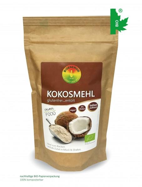 Kokosmehl im Bio-Papierbeutel, 300g