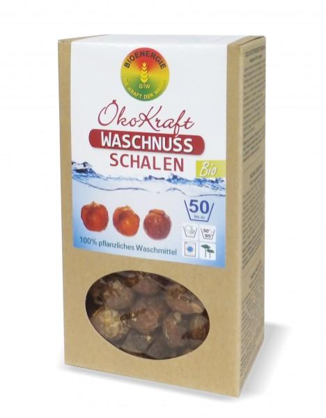 ÖkoKraft Waschnuss-Schalen inkl. 1 Waschbeutel, 250 g