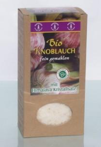 Bio Knoblauchsalz, mit Kristallsalz, 500 g