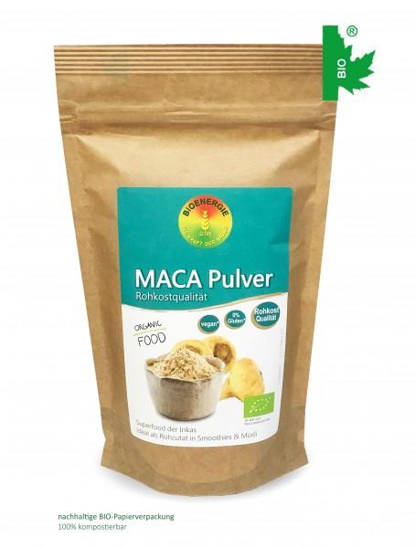 Maca Pulver im Bio-Papierbeutel, 250g