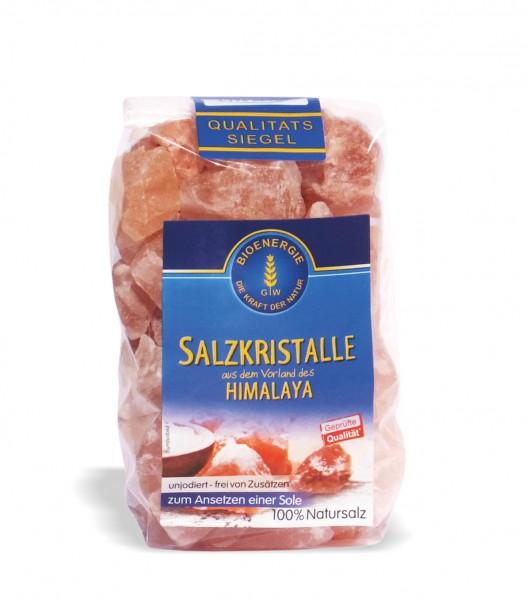 Salzkristall-Steine, 1 kg