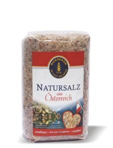 Natursalz aus Österreich, grob, 500 g