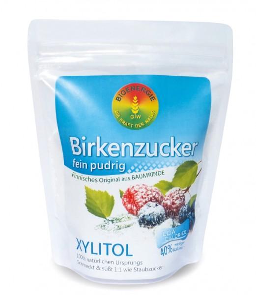 Birkenzucker, Xylitol fein pudrig, aus Finnland, 400 g