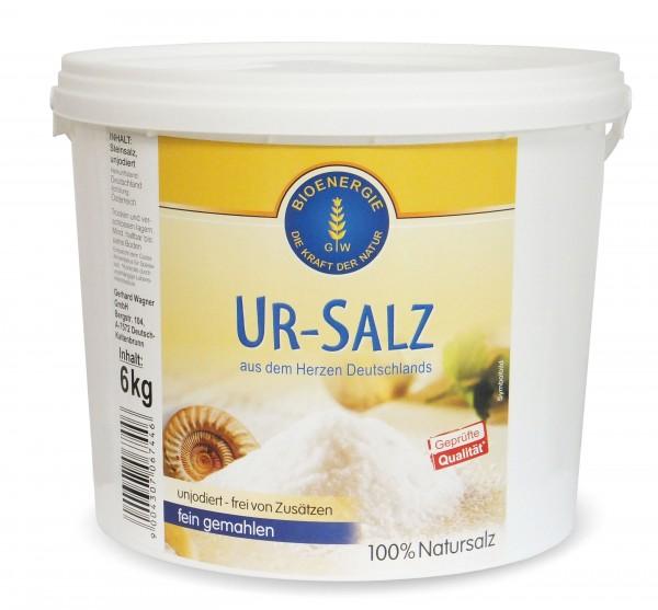 Ur-Salz aus Deutschland, fein, 6 kg