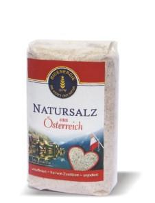 Natursalz aus Österreich, fein, 500 g