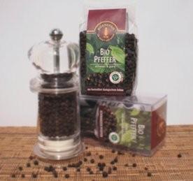 Bio-Pfeffer schwarz & ganz, 125 g