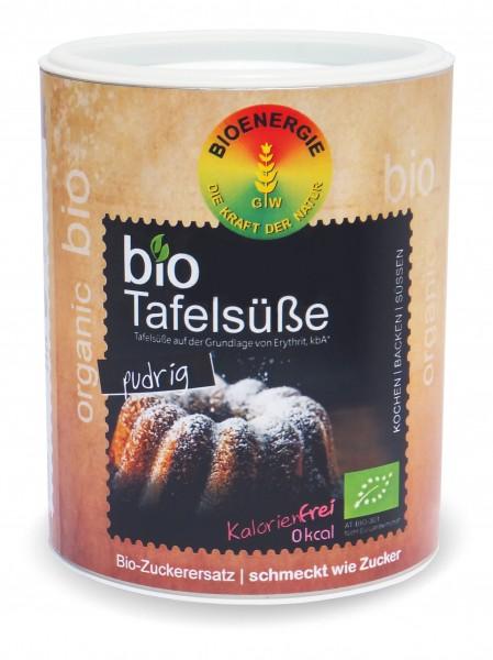 bioTafelsüße, Erythrit fein pudrig, 300g