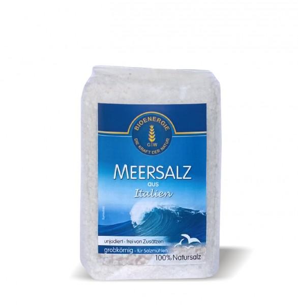 Meersalz aus Italien, grob, 1 kg