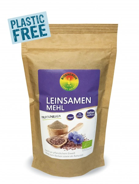 Leinsamenmehl im Bio-Papierbeutel, 250g