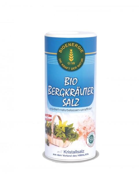 Bio Bergkräutersalz, mit Kristallsalz, 170 g
