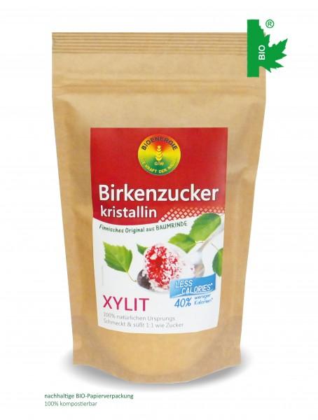 Birkenzucker, Xylitol kristallin, aus Finnland, 300 g