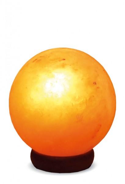 Salzkristall Lampe PLANET (geschliffen)