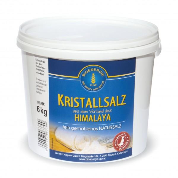 Kristallsalz fein gemahlen, 6 kg