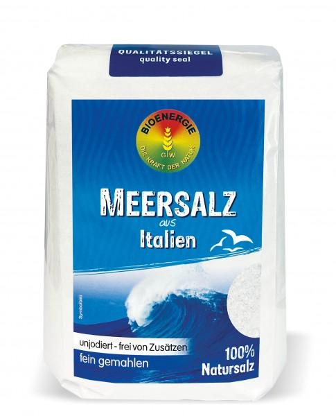 Meersalz aus Italien, fein, 1 kg