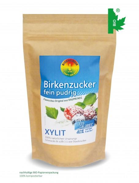 Birkenzucker, Xylitol fein pudrig, aus Finnland, 250 g