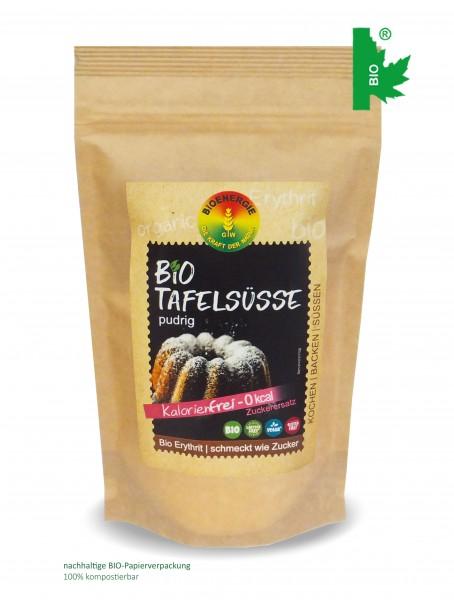 bioTafelsüße, Erythrit fein pudrig, 250 g