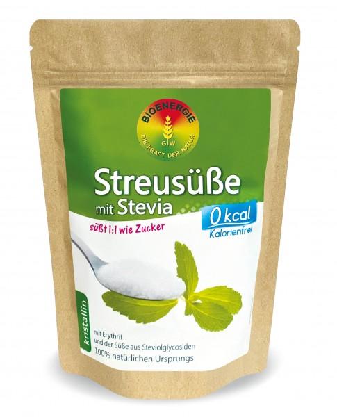 Streusüße mit Stevia 1:1, kristallin, 400 g