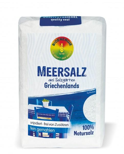 Meersalz aus Griechenland, fein, 1 kg