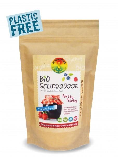 Bio Geliersüße im Bio-Papierbeutel, zuckerfrei, 270g