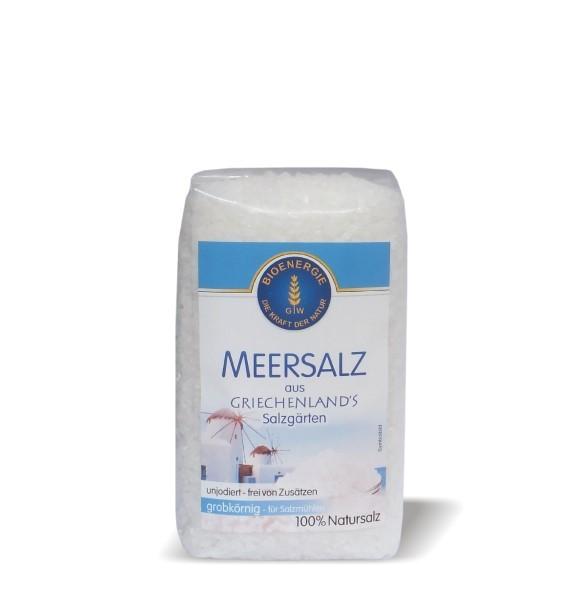 Meersalz aus Griechenland, grob, 500 g