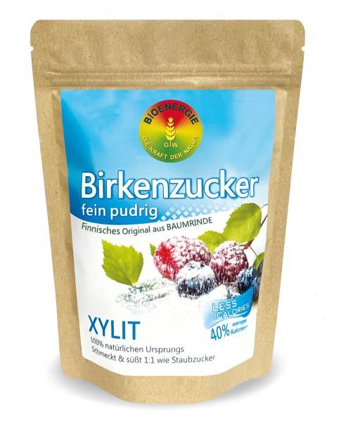 Birkenzucker, Xylit fein pudrig, aus Finnland, 400 g