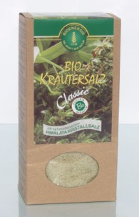 Bio Kräutersalz Classic, mit Kristallsalz, 500 g