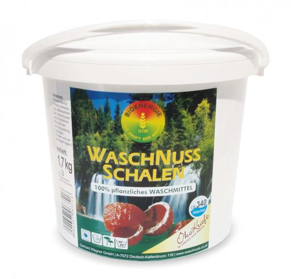 ÖkoKraft Waschnuss-Schalen inkl. 3 Waschbeutel, 1.7 kg