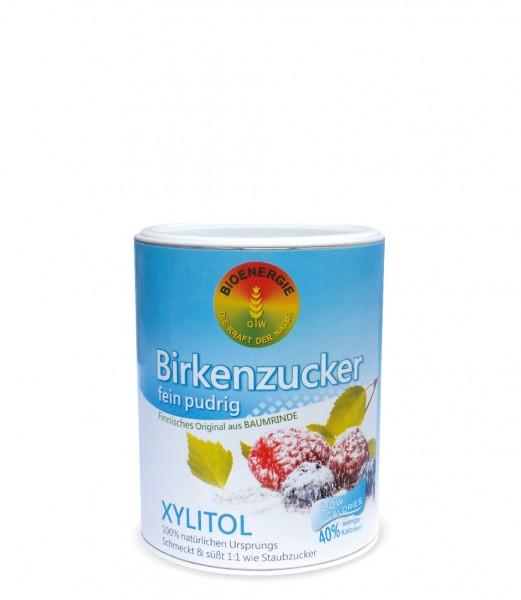 Birkenzucker, Xylitol fein pudrig, aus Finnland, 180 g